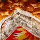 """Праздничный пирог """"Курник"""" фото"""