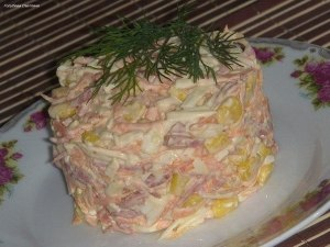 быстрый и вкусный салат фото