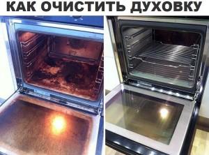Как еффективно чистить духовку без труда