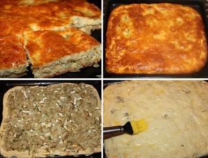 пирог с яйцом и капустой