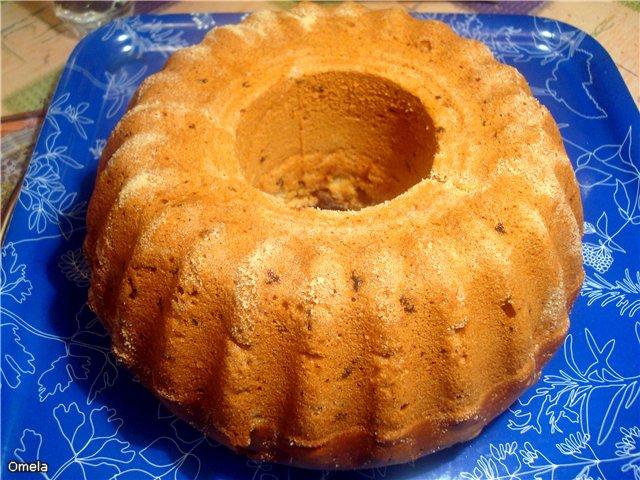 Пирог на сметане без яиц рецепт с фото в мультиварке