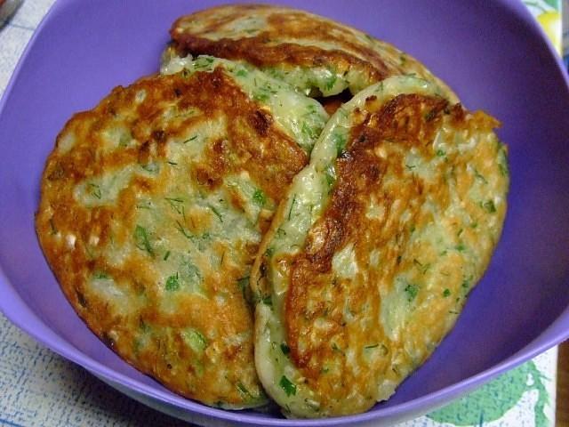 рецепт оладьи из свежей капусты