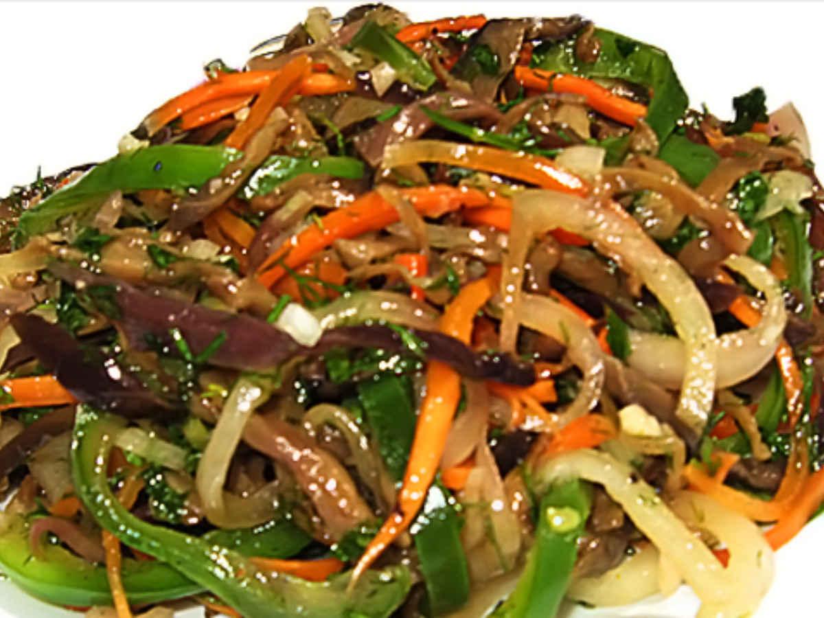 Корейские салаты рецепты с простые и вкусные с баклажанами