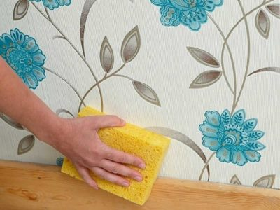 6 невероятно простых способов очистить обои от пятен