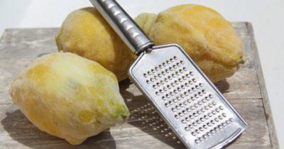 После увиденного, вы будете всегда замораживать лимоны