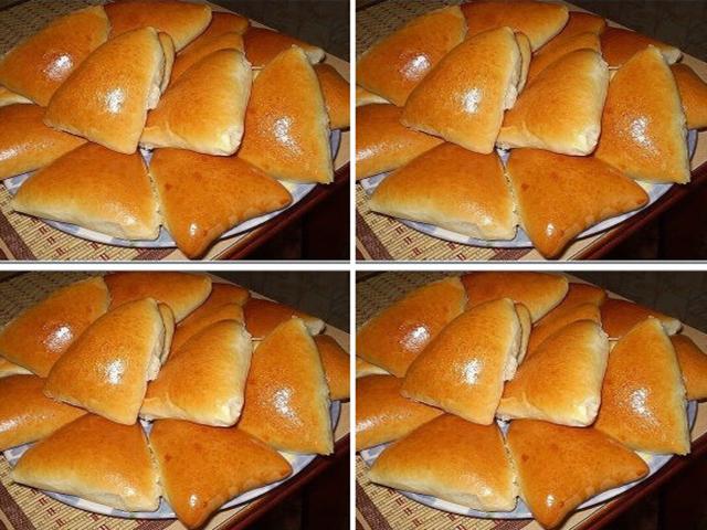 Нежное дрожжевое тесто для пирожков в духовке