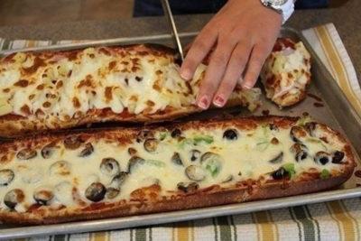 Необыкновенная пицца с изящной подачей