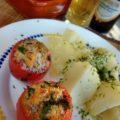 Фаршированные помидоры рыбой - по вкусу 100 % заявка! Отличный рецепт!