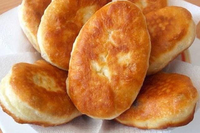 Жаренные бабушкины пирожки
