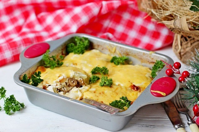 Мясо по-французски Вкусный рецепт без майонеза.