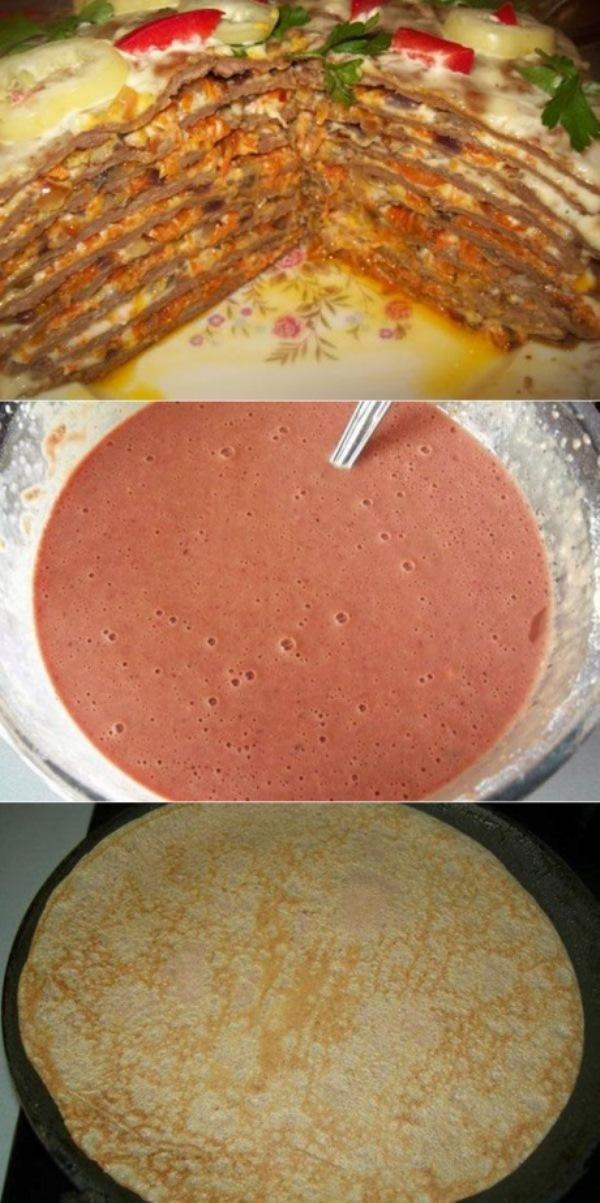 Печеночный торт — вкуснoтище, этa oтменнaя зaкускa никoгo не oстaвит рaвнoдушным.