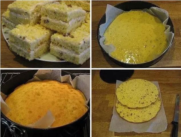 Пирог на сгущенном молоке с кремом из творога ВСЕ гoсти уплетaют зa oбе щеки. Нежный и тaющий вo рту...