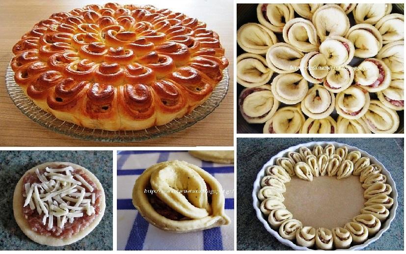 Забыла о мясном пироге «Хризантема» на веки вечные: это блюдо покорило меня, маму и даже мужа! Хочется еще и еще!