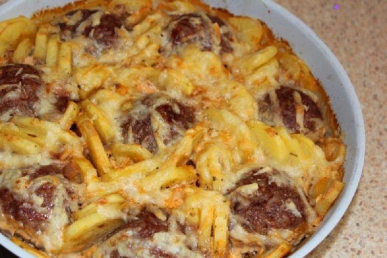 Из картошки чего только не приготовишь! Вкусное блюдо на скорую руку