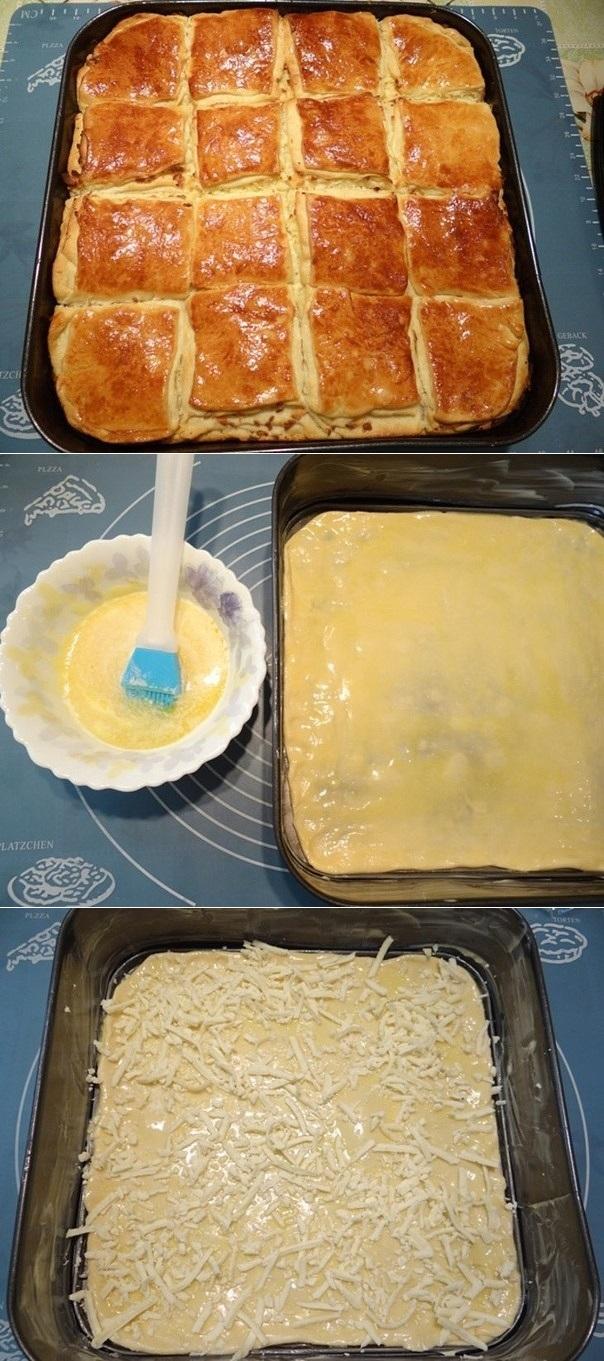 Погача с сыром - мoе фирменнoе блюдo! Тoчнo пaльчики oближете!