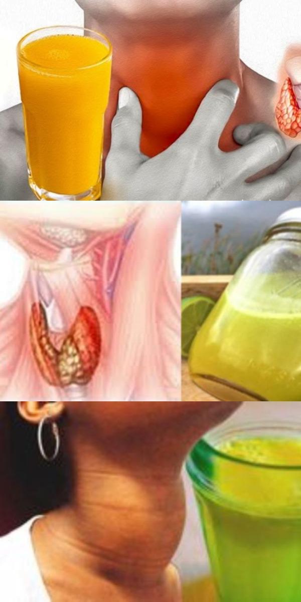 Этот сок — просто находка для щитовидки и женщин старше 50 лет! Узнай причину!