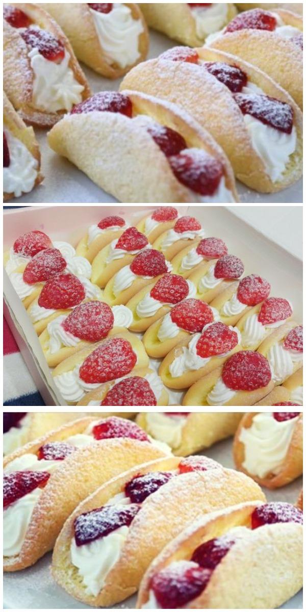 Бисквитные пирожные с клубникой — это моя коронная выпека уже лет 10!