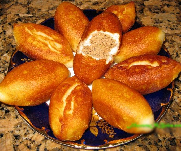 Пирожки как пух за 5 минут (тесто по ГОСТу)