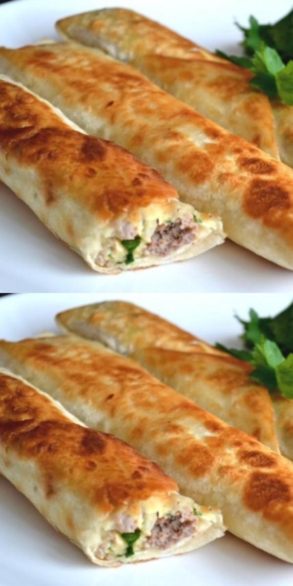 Аппетитный рулет из лаваша — великолепная закуска на скорую руку!