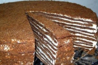 Изумительный торт «Нутелла». Сохраните рецепт, пригодится!