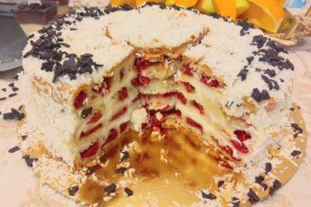 Все умоляли, чтобы я поделилась рецептом! Этот торт просто умопомрачительный!!!