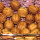 Печенье «Орешки» со сгущенкой фото