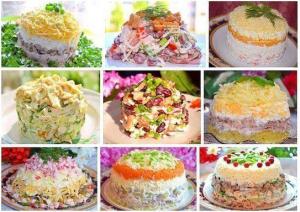 9 лучших салатов фото