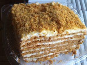 торт сметанник фото