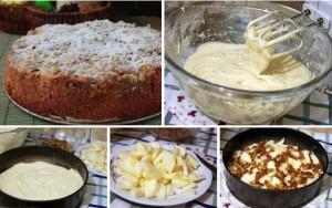 "яблочный ""Домашний"" пирог"