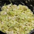 Обалденный салатик из свежей капусты с курицей