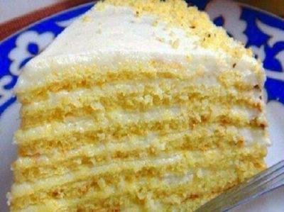 Рецепт торта «Milchmädchen»
