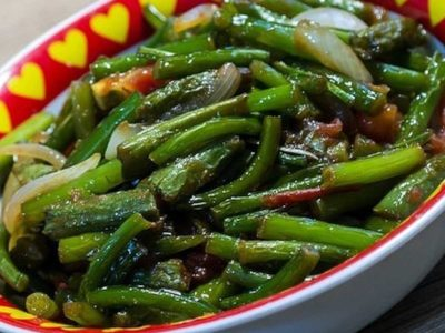 Салат из стрелок чеснока по-корейски