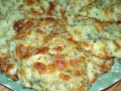 Оладьи из капусты с сыром