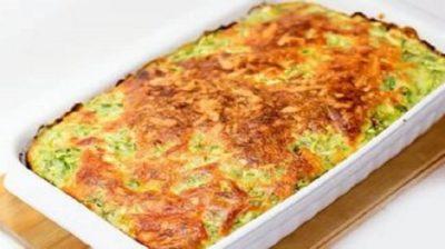 Самая лучшая запеканка из кабачков с сыром
