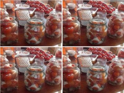 Самые вкусные помидоры по маминому рецепту
