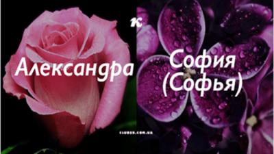 Узнай цветок своего имени