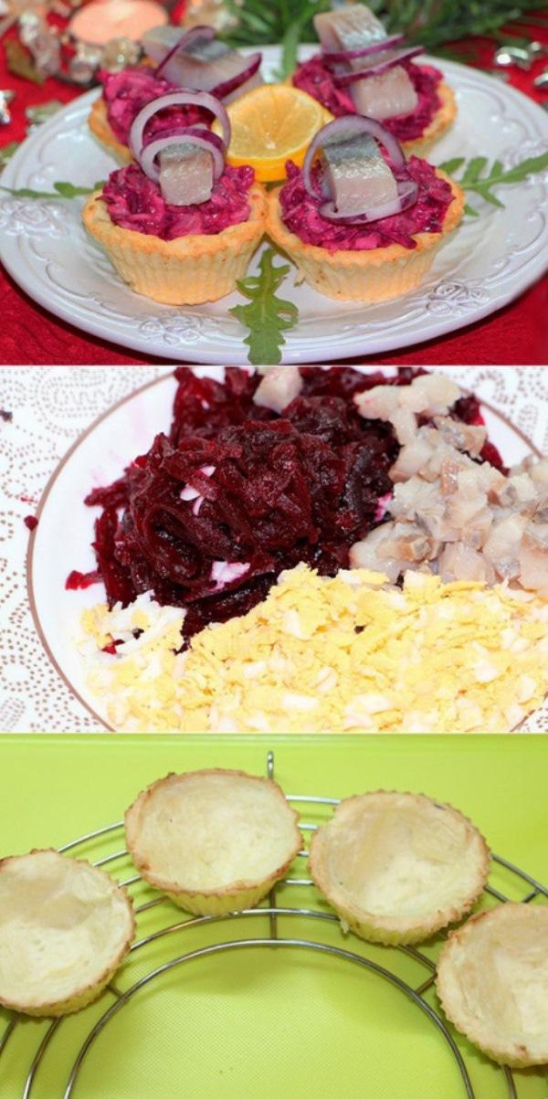 Сельдь «на шубе»   Такое блюдо достойно любого праздничного стола.