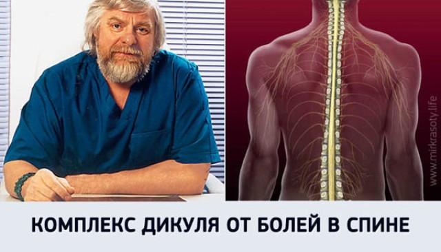 6 упражнений гимнастики Дикуля от боли в спине2