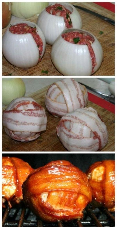 Луково-мясные мячики — простой рецепт особенного лакомства для всей семьи.