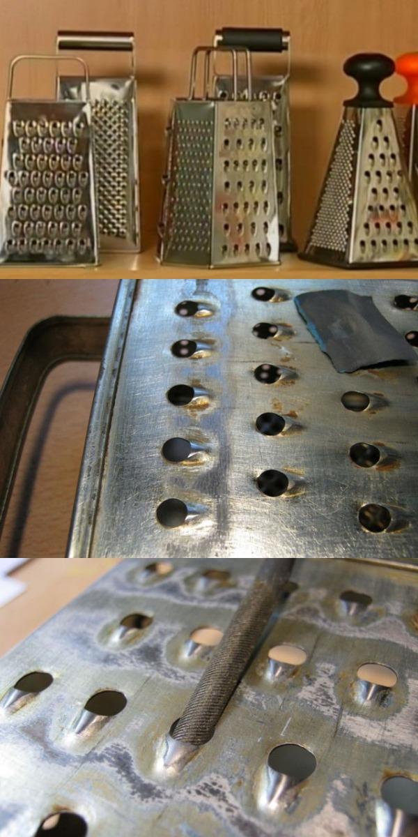 Как заточить кухонную терку