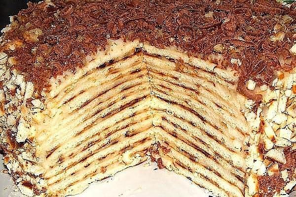 Этот торт делается всего за пол часа и без духовки!