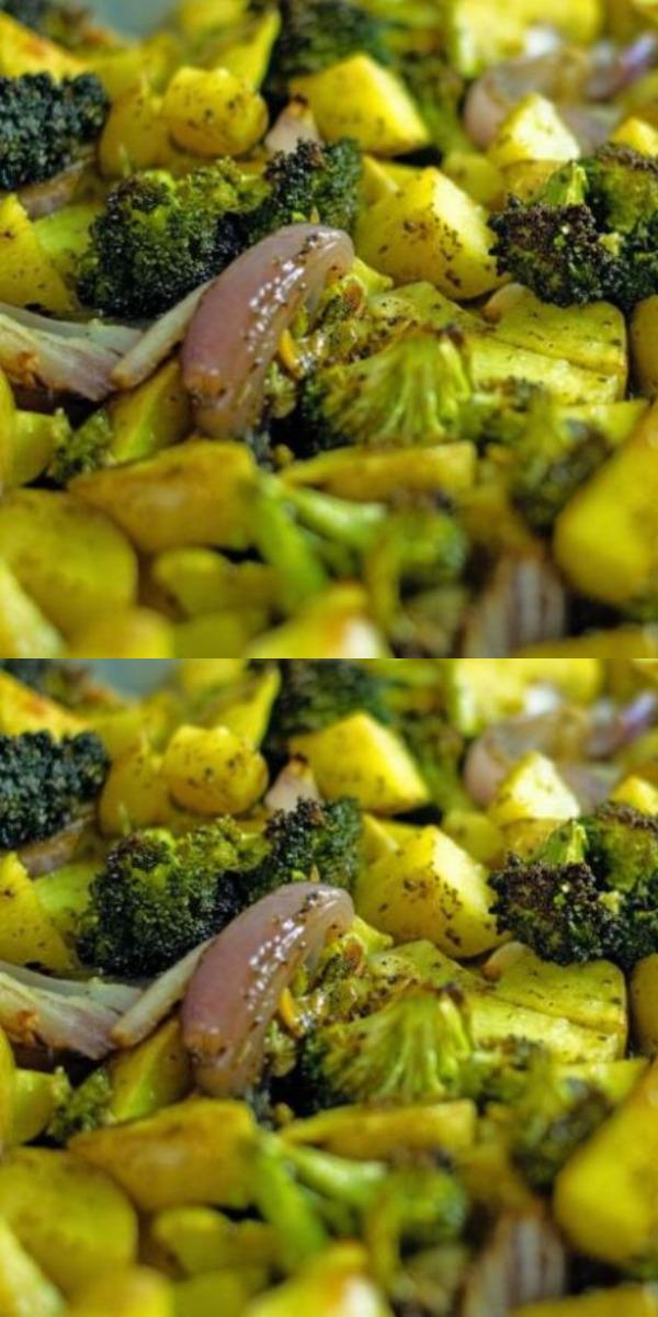 Запеченный картофель с брокколи. Рецепты для настоящих гурманов.