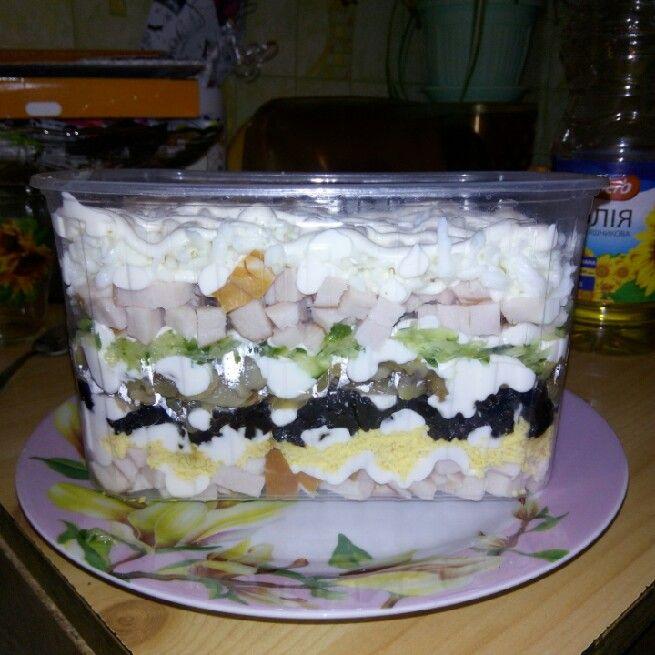 ПРОРЫВ ГОДА. Восхитительный слоенный салат «Негреско»