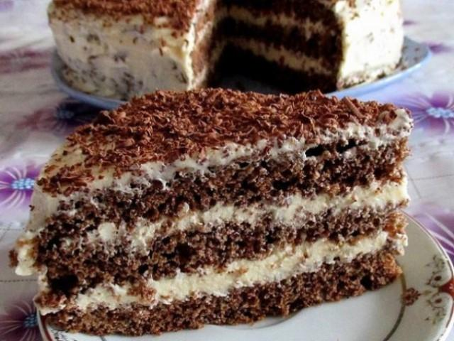 Быстрый шоколадный торт, сделайте, не пожалеете.