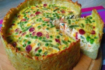 Пирог «Драник» - покоряет сразу, хоть каждый день готовь!