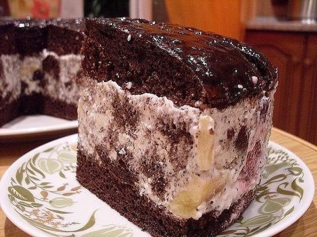 """Восхитительный торт """"Африканская ромашка"""" настоящий экзотический десерт."""