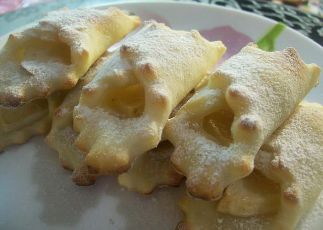 Малокалорийные творожные платочки с яблоками! Точь-в-точь бабушка готовила.