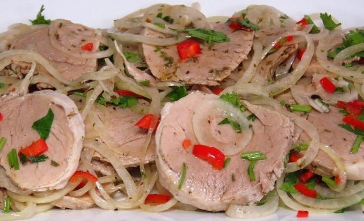 Как превратить отварное мясо в божественно вкусное блюдо. И сковородку отмывать не нужно.