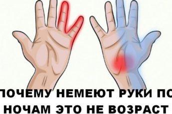 У вас немеют руки по ночам? Это не возраст…