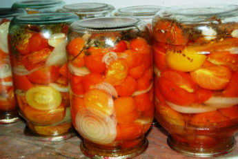 Обалденные помидоры в желейном сиропе